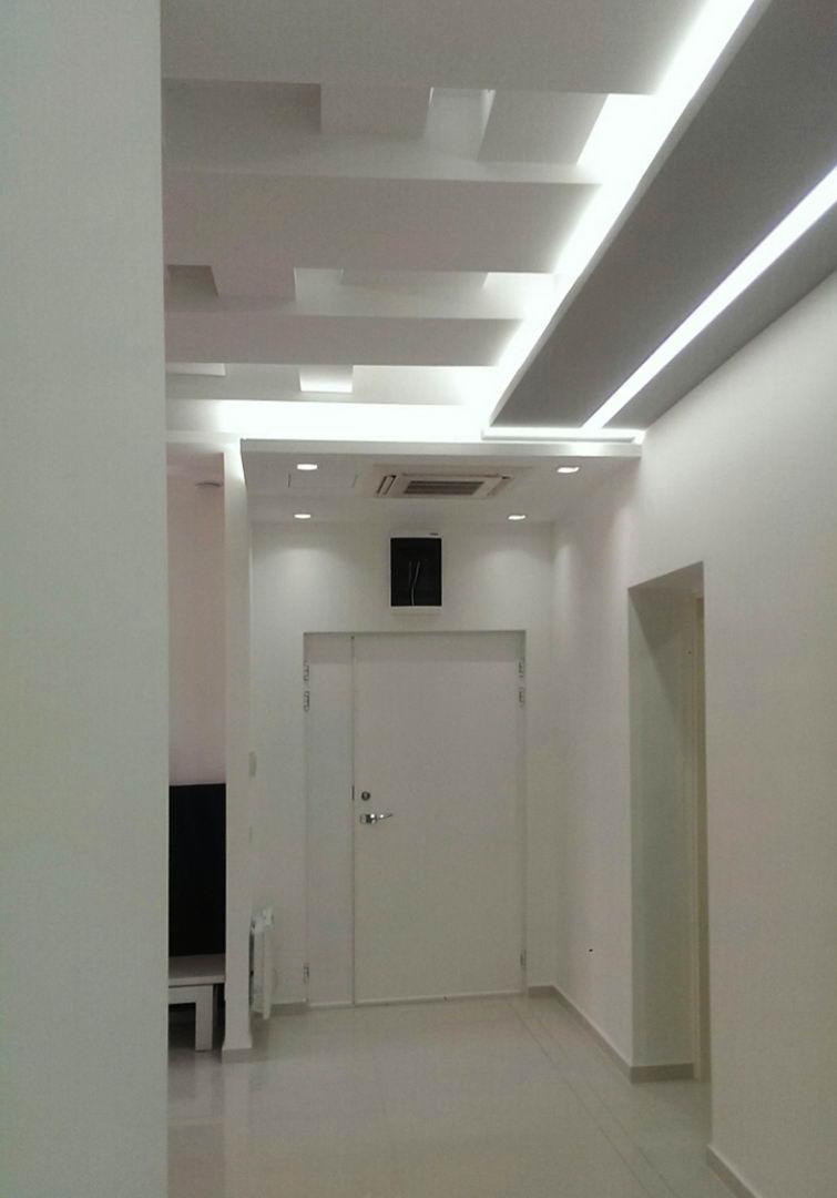 Gipsarski radovi u hodniku
