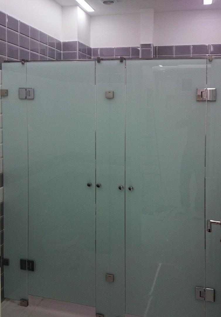 Staklena vrata toaleta